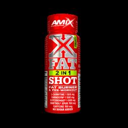XFAT 2 en 1 SHOT-Amix- Quemador liquido en viales