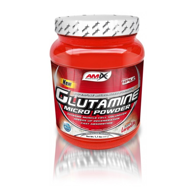 L-GLUTAMINE MICRO POWDER 500GR AMIX