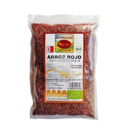 Arroz Rojo BIO-500g-Prasad-Sin Gluten