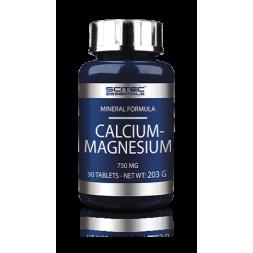 CALCIUM MAGNESIUM 100TABS SCITEC NUTRITION
