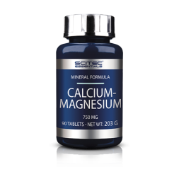Calcium Magnesium 750mg 90 tabs Scitec Nutrition