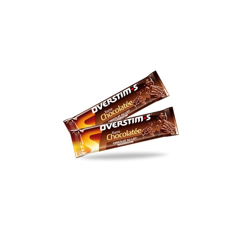 BARRITA ENERGÉTICA CHOCOLATE-MAGNESIO OVERSTIMS