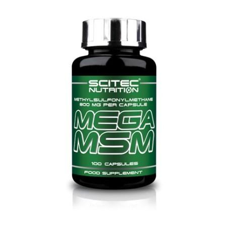 MEGA MSM SCITEC NUTRITION 100CAPS