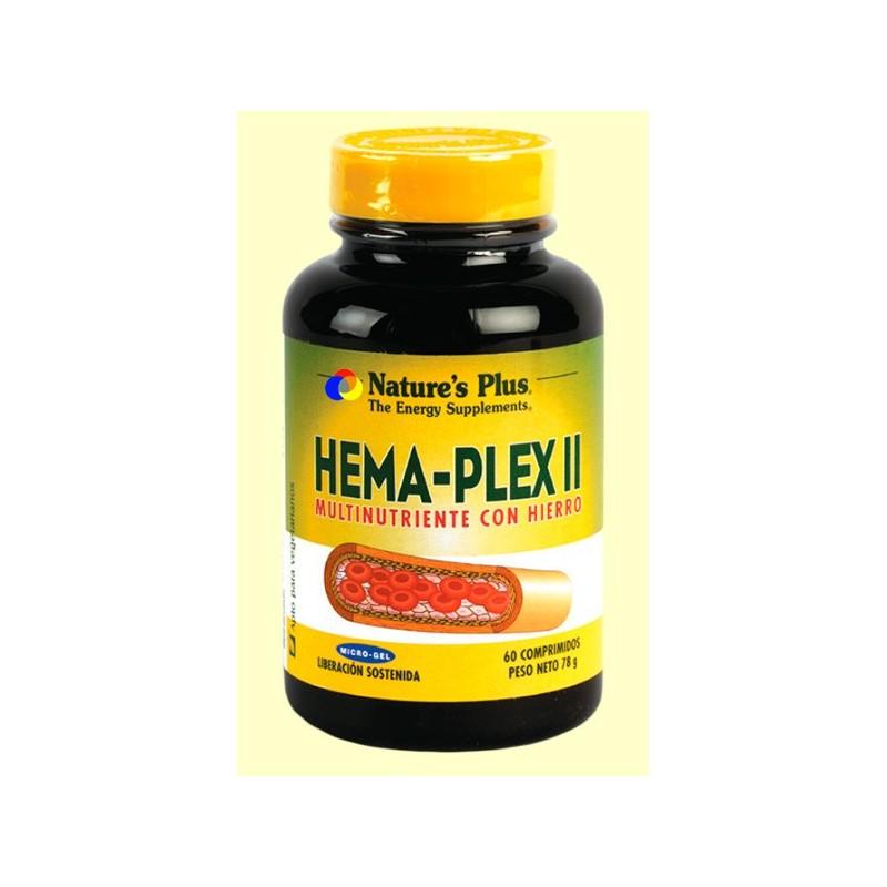 HEMAPLEX II 60COMPR-NATURE'S PLUS