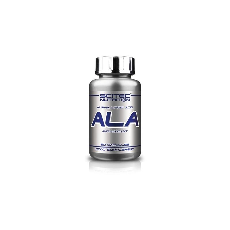 ALA(ácido alfa lipoico) 50CAPS SCITEC NUTRITION