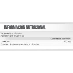 LEUCINA 100CAPS SCITEC NUTRITION