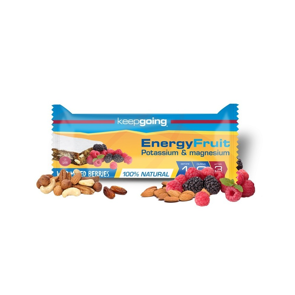 BARRITA ENERGY BANANA FRUIT KEEPGOING