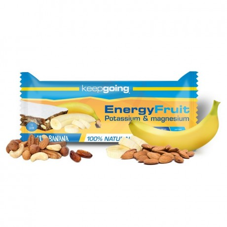 BARRITA ENERGY FRUIT BANANA KEEPGOING