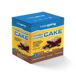ENERGY CAKE CARBO CHARGE-KEEPGOING 400GR- PASTEL ENERGETICO