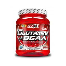 GLUTAMINA+BCAA 500GR AMIX