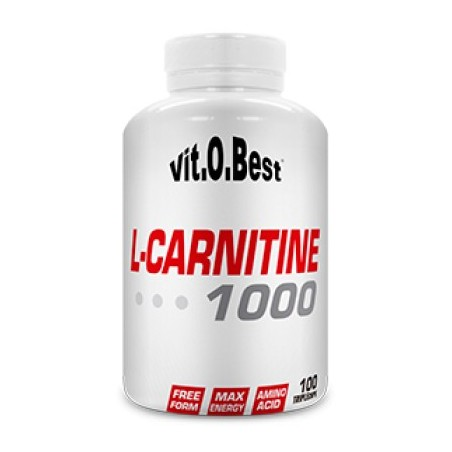 L-CARNITINA 1000 100CAPS VITOBEST
