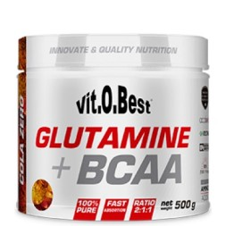 GLUTAMINA + BCAA VITOBEST 500GR