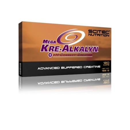 MEGA KRE-ALKALYN 120CAP SCITEC NUTRITION