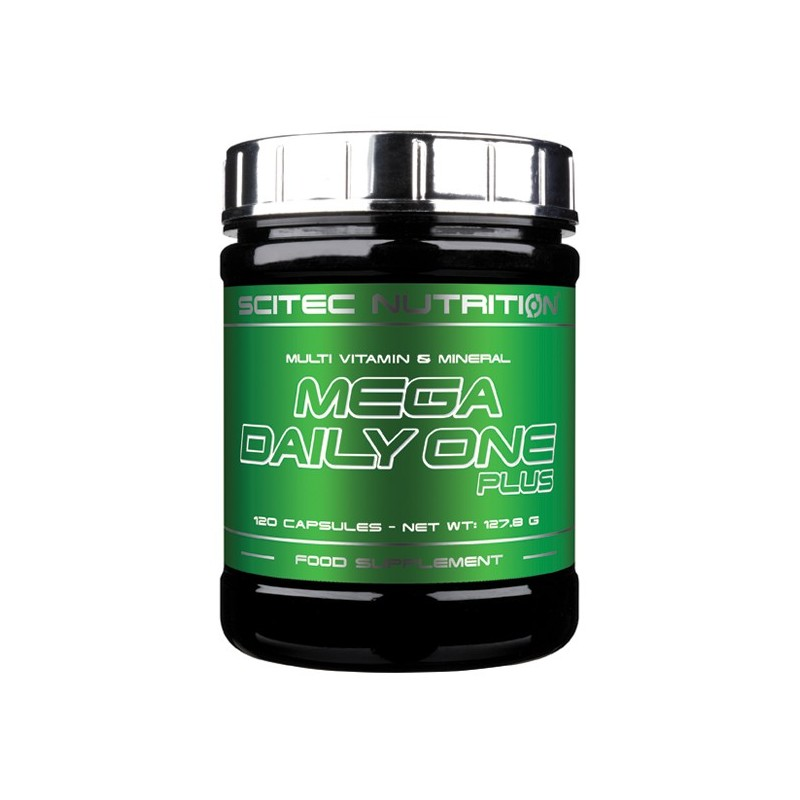 MEGA DAILY ONE PLUS 120CAPS SCITEC NUTRITION