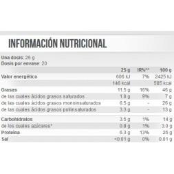 100% CREMA DE CACAHUETE 500GR- SIN ADITIVOS-SCITEC