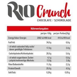 RIO CRUNCH-Barquillo proteico sin azucar-GOT7