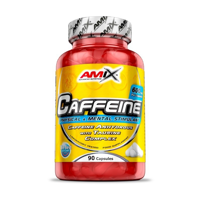 CAFEINA 200MG + TAURINA 90CAPS AMIX
