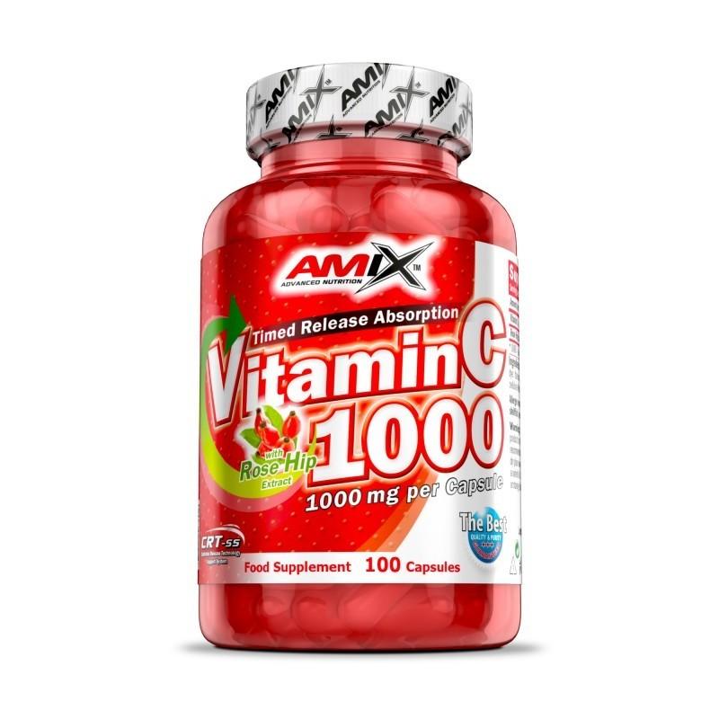 VITAMINA C 1000 - 100CAPS AMIX