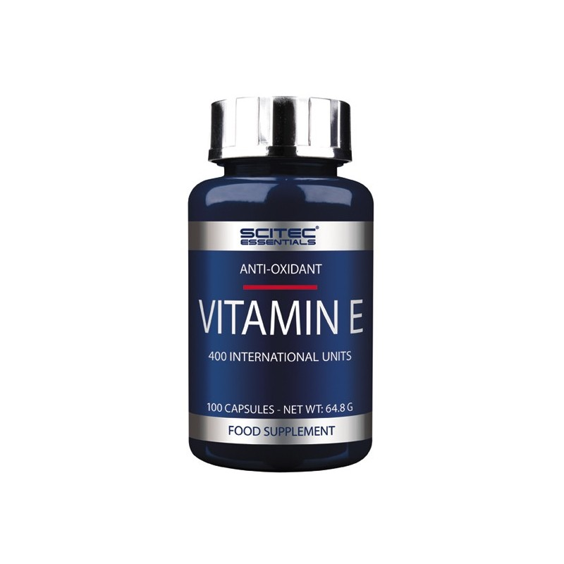 VITAMIN-E 100CAPS SCITEC NUTRITION