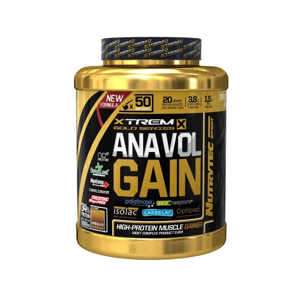 ANAVOL GAIN 3KG- NUTRYTEC DESCUENTO 15% AL FINALIZAR LA COMPRA