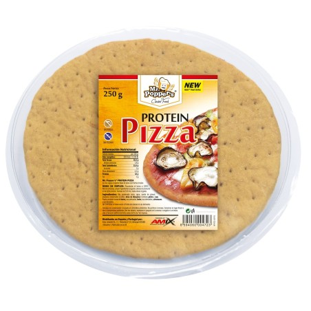 PROTEIN PIZZA 250g MrPoppers-AMIX-Base de pizza proteica