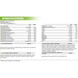 VITA GREENS & FRUITS 600G-SCITEC-Multinutriente a base de plantas. frutas y verduras.