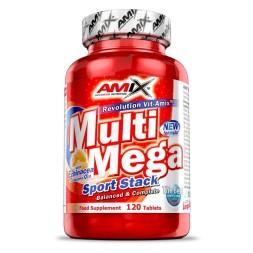 MULTI MEGA STACK 120CAPS-AMIX- Multivitaminico y mineral