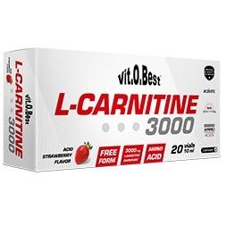 CARNITINA 3000- Vitobest-20 viales de 10ml