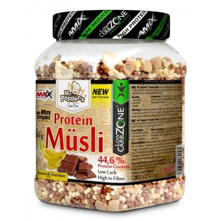 PROTEIN MUSLI-MrPopper's-AMIX 500g-Muesli proteico