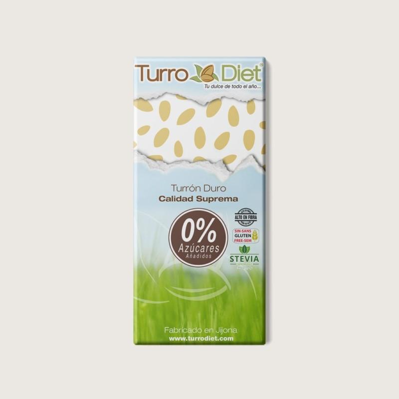 TURRON BLANDO SIN AZUCARES (stevia)-TURRODIET