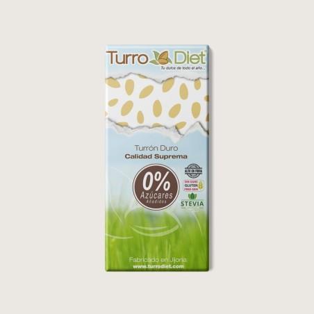 TURRON DURO SIN AZUCARES (stevia)-TURRODIET