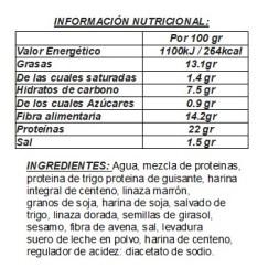 PAN PROTEICO Protein Bread-Life Pro 250g 5 Rebanadas