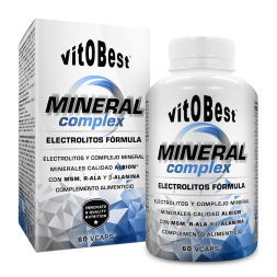 MINERAL COMPLEX 60CAPS-VITOBEST-Electrolitos capsulas