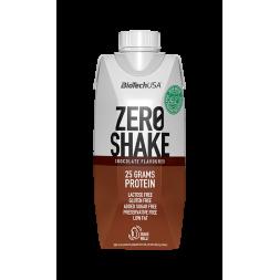 Zero Shake 330ml-Biotech USA-25g Proteína-2x1 en sabor...